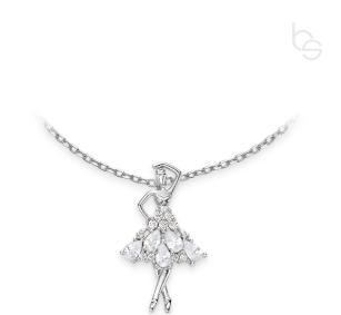 Kinder Halskette Ballerina